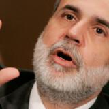 Den amerikanske centralbankchef Ben Bernanke