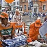 Overskudsgraden er faldet for Metroxpress, der er presset af de nye gratisaviser, Nyhedsavisen og 24timer.