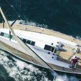 Der bliver solgt færre sejlbåde, til gengæld bliver de større og dyrere og med krav om masser af udstyr, der gør sejladsen og ophold på båden mere komfortabel. Her en sejlbåd og interiør fra en Beneteau First 50.