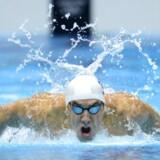 Den amerikanske svømmer Michael Phelps gør comeback. Her ses han ved OL i 2012, hvor det blev til seks medaljer.
