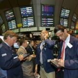 Over halvdelen af amerikanske firmaer afleverer regnskab i disse uger, og det giver brede smil på megabørsen New York Stock Exchange.