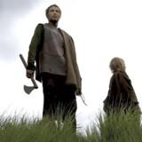 Ikke Manden med Leen, men Manden med Øksen. Mads Mikkelsen i den premiereaktuelle »Valhalla Rising«.