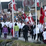 Regent og Kronprinparret i Nuuk