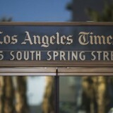 Los Angeles Times er et af en række amerikanske medier, der blokerer for europæiske borgeres adgang til avisens webside.
