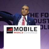 Sunil Bharti Mittal, den indiske telemilliardær, som er formand for mobilbrancheorganisationen GSMA, kalder roaminggebyrerne en katastrofe for teleselskaberne. Foto: Paul Hanna, Reuters/Scanpix