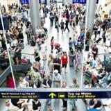 ARKIVFOTO: Antallet af passagerer, der passerede Københavns Lufthavn i oktober, faldt i en uvant udvikling.