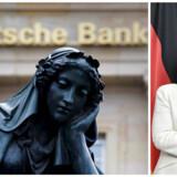 Deutsche Bank får ingen opbakning fra Angela Merkel.