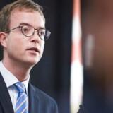 Esben Lunde Larsen, miljø- og fødevareminister. (Foto: Ólafur Steinar Gestsson/Scanpix 2016)