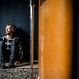 Portræt af jazzmusiker Jakob Bro. Fotograferet i sit kommende studie på Amager.