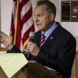 Historien handlede om Republikanernes kandidat til Senatet i Alabama, Roy Moore, der er under beskyldninger om upassende seksuel adfærd.