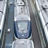 Arkivfoto:IC4-tog giver DSB milliardminus i 2016 DSB tabte 2, 2 milliarder kroner før skat i 2016. Store nedskrivninger af værdien på hovedsageligt IC4-tog trækker markant ned.Se RB kl.11.47 d. 09.02.2017 Arkivfoto: ARKIVFOTO 2011 af IC4-tog- - Se RB 20/1 2017 10.13. DSB har så dårlig ledelse, at deres tog er fyldt med fejl. Fra 2015 til 2016 kom der en tredjedel flere fejl. Da to af tre fejl ikke rettes, forsinkes togene til skade for passagererne. (Foto: CLAUS FISKER/Scanpix 2013)