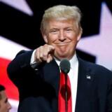 Arkivfoto. Vinder Trump præsidentvalget, kan han kickstarte en amerikansk recession, der kan komme til at koste milliarder af kroner for danske eksportvirksomheder.