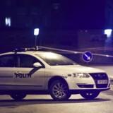 Arkivfoto: Skud i Tingbjerg Torsdag aften blev en mand dræbt og to såret ved et skyderi i bydelen Tingbjerg lige nord for København. (Foto: Martin Sylvest Andersen/Scanpix 2017)