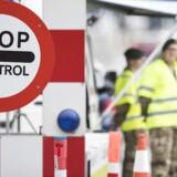 -Arkiv- SE RITZAU Grænsekontrollen forlænges frem til 12. maj -