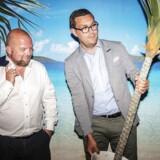Med virksomheden Goodwings vil Christian Honoré (tv.) og Christian Møller-Holst (th.) gøre rejsebranchen profitabel og socialt ansvarlig på samme tid.