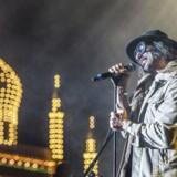 Den danske gruppe Zapp Zapp, med sanger Eran DD i forgrunden, på scenen i Tivoli til Fredagsrock 16. juni 2017.
