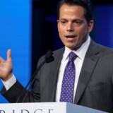 Ifølge den tilbagetrukne historie fra CNN var Senatets efterretningskomité ved at efterforske et møde mellem Anthony Scaramucci (billedet) og Kirill Dmitrjev, der leder en russisk investeringsfond. Reuters/Richard Brian/arkiv