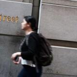 Arkivfoto: Wall Street.