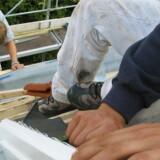 ARKIVFOTO 2003 af håndværkere- Se RB 21/12 2013 04.30. Det går rigtig godt med at skaffe lærlingepladser til tømrer-elever og murer-elever på Erhvervsskolen Nordsjælland i både Helsingør og Hillerød. (Foto: Steffen Ortmann/Scanpix 2013)