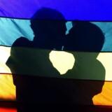Appen Grindr henvender sig primært til homo- og biseksuelle mænd. Reuters/Bruno Domingos/arkiv