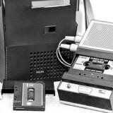 Philips kassettebaandoptager og kassettebånd. ARKIVFOTO.