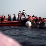 629 personer blev reddet på Middelhavet - og så startede et skænderi om, hvem der skulle tage imod dem.