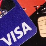 Arkivfoto. Visa landede et bedre end forventet kvartalsoverskud.