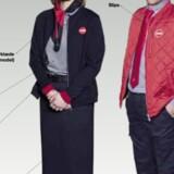 Sådan kommer DSB's nye uniform til at se ud. Foto: Gitte Sofie Hansen
