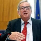 EU-Kommissionens formand, Jean-Claude Juncker, vil i sin årlige »State of the Union« give sit bud på, hvordan EU genvinder befolkningernes tillid. REUTERS/Francois Lenoir