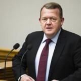 Trekløverregeringens første session i Folketinget d. 1 december 2016. Statsminister Lars Løkke Rasmussen. (Foto: Ólafur Steinar Gestsson/Scanpix 2016)