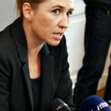 Pressemøde med Justitsminister Mette Frederiksen mandag 3. november 2014 efter afleveringen af kommissionsberetningen.