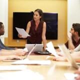 Det er sjældent, der sidder en kvinde for enden af bordet, i landets 30 største virksomheder.