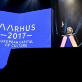 Billedet fra præsentation af programmet for Kulturby Aarhus 2017.