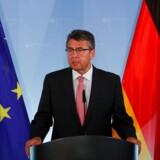 Tysklands udenrigsminister, Sigmar Gabriel.