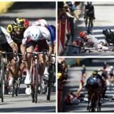 Sagans hold har indgivet en officiel protest over, at han er blevet smidt ud af Tour de France, men ifølge den internationale cykelunions (UCI) reglement kan Peter Sagans diskvalifikation ikke appelleres, skriver TV 2.