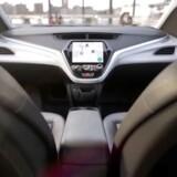 General Motors er kalr med Cruise AV i 2019. Det er en førerløs bil uden hverken rat eller pedaler.