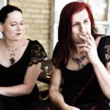Cecillia Mundt og Isabel Storm var det første danske transkønnede par til at holde bryllup i den danske folkekirke.
