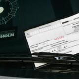 Arkivfoto. Parkeringsselskaberne vil dække en del af udgifterne til et nyt klagenævn ved at hæve priserne på parkeringsbøder. Scanpix/Simon Bohr