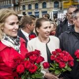 Med Helle Thorning-Schmidt og Bjarne Corydons (t.v.) exit fra dansk politik bliver Henrik Sass Larsen (t.h.) samt Nicolai Wammen de nærmeste sparringspartnere for partiformand Mette Frederiksen.