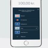 Mobile Pay, som er Danske Banks mobilbetalingsløsning, så man kan bruge telefonen i stedet for at skulle have kreditkortet op, er nu udvidet, så den kan rumme seks forskellige betalingskort. Man vælger selv, hvilket af dem man vil bruge til hver betaling.