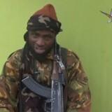 Arkivfoto: Abubakar Shekau, leder af den militante gruppe Boko Haram, rapporteres såret i den nordøstlige del af landet.