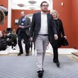 Simon Emil Ammitzbøll-Bille (LA) undlod mandag aften at trække LA's finanslovstrusler tilbage.