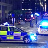 Det britiske politi har ransaget en lejlighed i London.