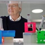 Sammen med sit team af forskere arbejder Oluf Borbye Pedersen med undersøgelser af tarmbakteriernes kemifabrik. Privatfoto