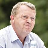 Arkivfoto: Venstre holdt fredag d. 11. august pressemøde ved deres sommergruppemøde på hotel Scheelminde i Aalborg. Her ses formanden, statsminister Lars Løkke Rasmussen på pressemødet. (foto: Henning Bagger / Scanpix2017)