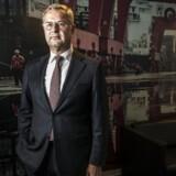 Når den nyudnævnte topchef for A.P. Møller-Mærsk kigger i spåkuglen, ser han et endnu større selskab for sig med en højere aktiekurs.
