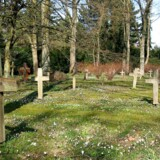 22 gravsteder er blevet udsat for tyveri på Hellerup Kirkegård. Billedet her er fra Mariebjerg Kirkegård, der også ligger i Gentofte Kommune.