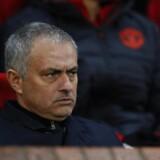 Manchester Uniteds manager, José Mourinho, var ikke tilfreds med spillernes manglende tænding både før og under kampen.