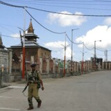 Arkivfoto. En kvinde og en ung mand blev lørdag dræbt i Kashmir, og adskillige andre blev såret under voldsomme demonstrationer rettet mod Indien.