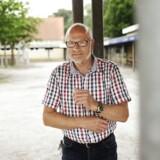 Carsten Høyer er skoleleder på Seden Skole, hvor man i 2009 besluttede, at elever ikke må tale deres modersmål, hvis der er personer til stede, som ikke forstår det talte sprog. Foto: Asbjørn Sand